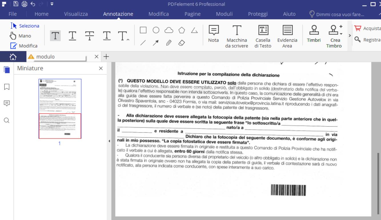Creare PDF con campi editabili con LibreOffice